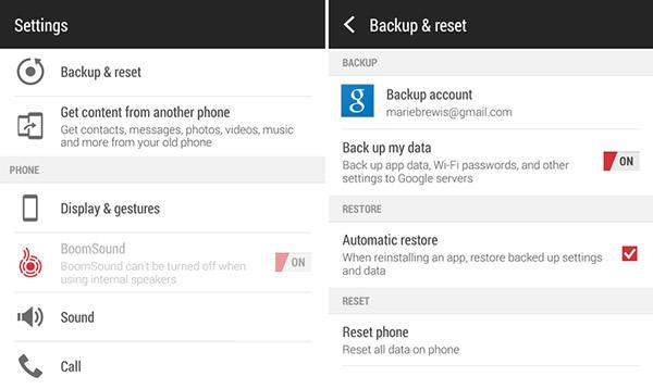 Wie Sie ein Backup Ihrer Android Daten erstellen