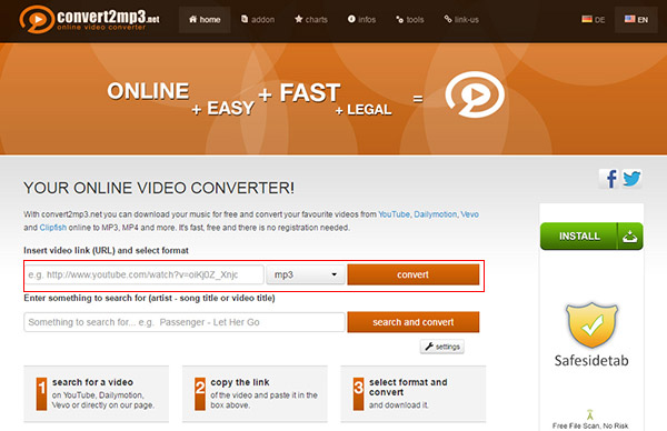 how to convert dailymotion videos to mp3