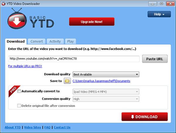 video runterladen kostenlos