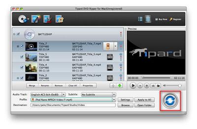 VOB-Dateien konvertieren