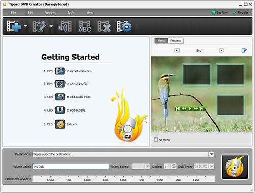 Downloaden und installieren Sie DVD Burner