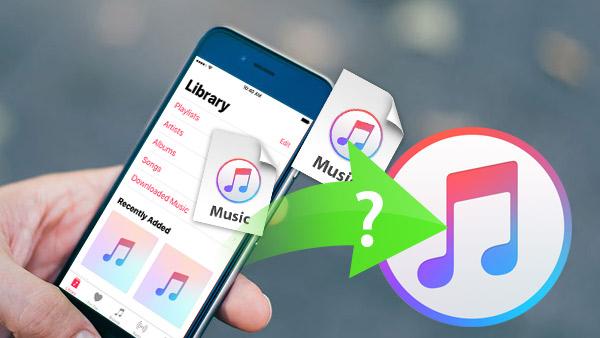 Wie Sie Musik vom iPhone nach iTunes übertragen