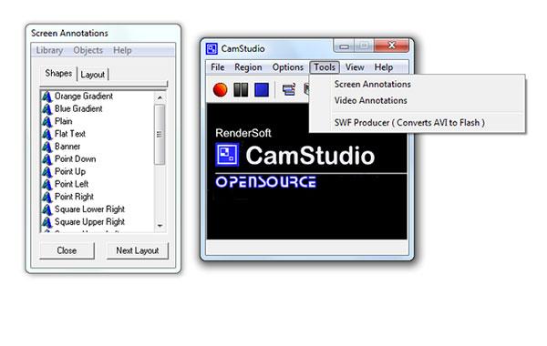 Die besten 5 Alternativen von Camstudio für Bildschirmaufnahmen