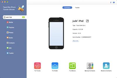 iPod mit dem Mac verbinden