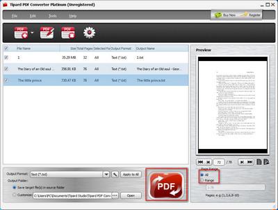 PDF Datei in Text Dokument umwandeln