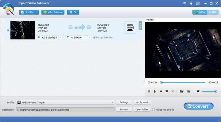 Video/Audio Datei hinzufügen