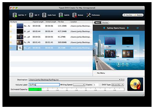 iMovie Video zum DVD Brenner hinzufügen