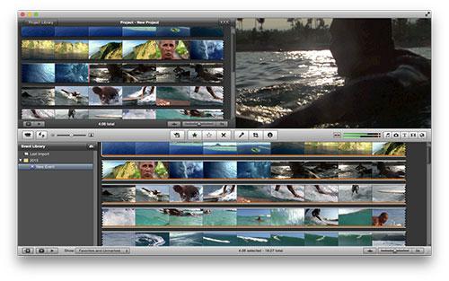 Exportieren Sie das iMovie Projekt als Datei