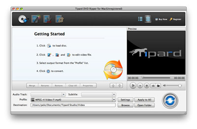 Installieren Sie VOB Converter für Mac