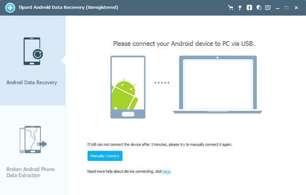 Laden Sie die neueste Version von Android Data Recovery herunter und installieren es auf Ihrem Computer.