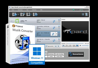 Tipard Music Converter
